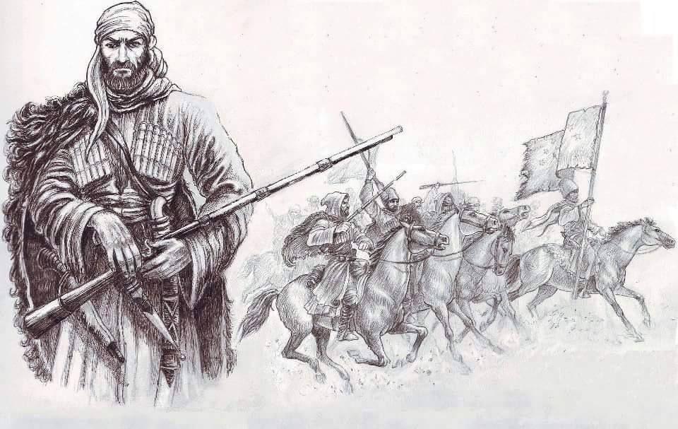 кружевные листовые карачаевский воин картинка комментарии материалу