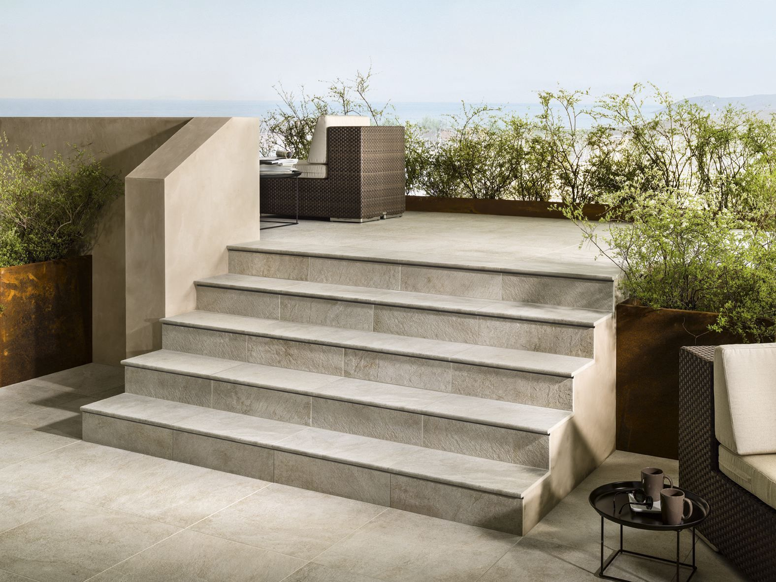 Best Porcelain Stoneware Outdoor Floor Tiles Dual Step By 400 x 300