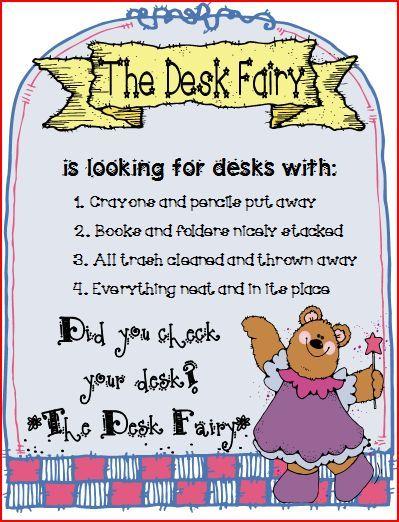 desk fairy reminder