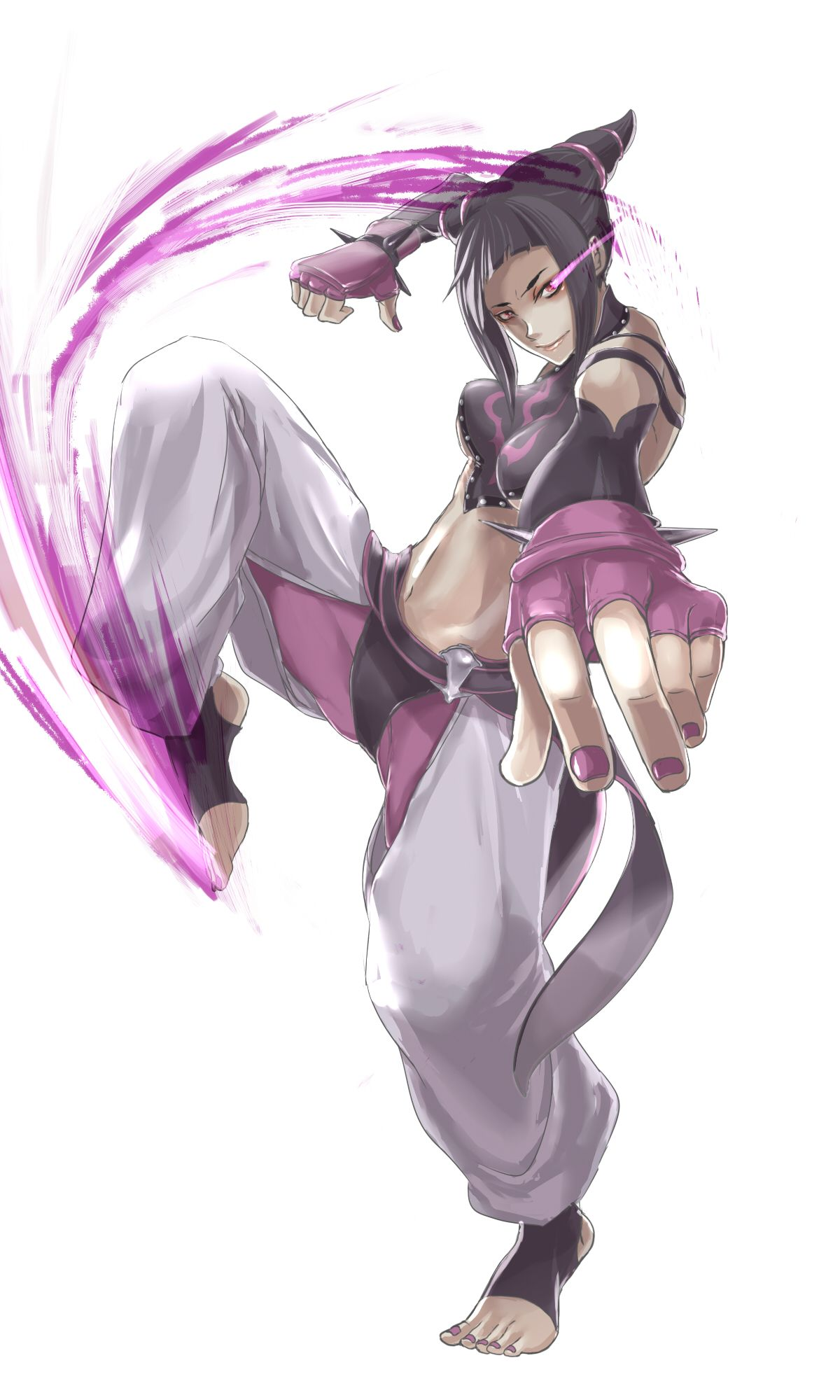 Street Fighter, Juri, by chima (colu-gaga)
