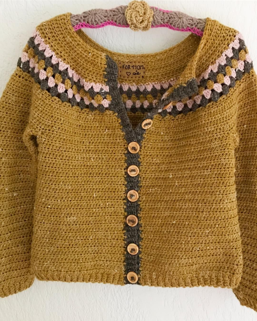 Moschino Cardigan à bordures en crochet