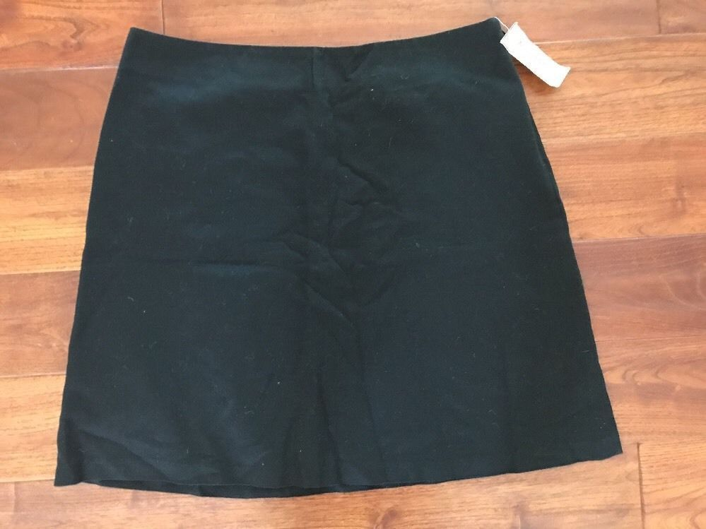22a4a1d7be1 Michael Kors black cotton textured straight skirt   size 14 fully lined  MSRP  89  fashion