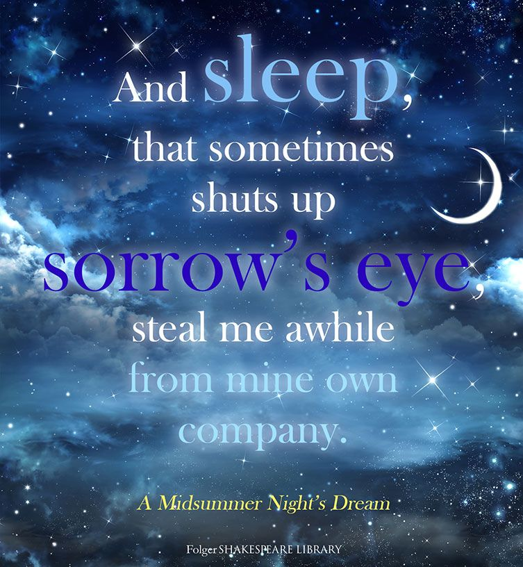 Find This Shakespeare Quote From A Midsummer Nights Dream