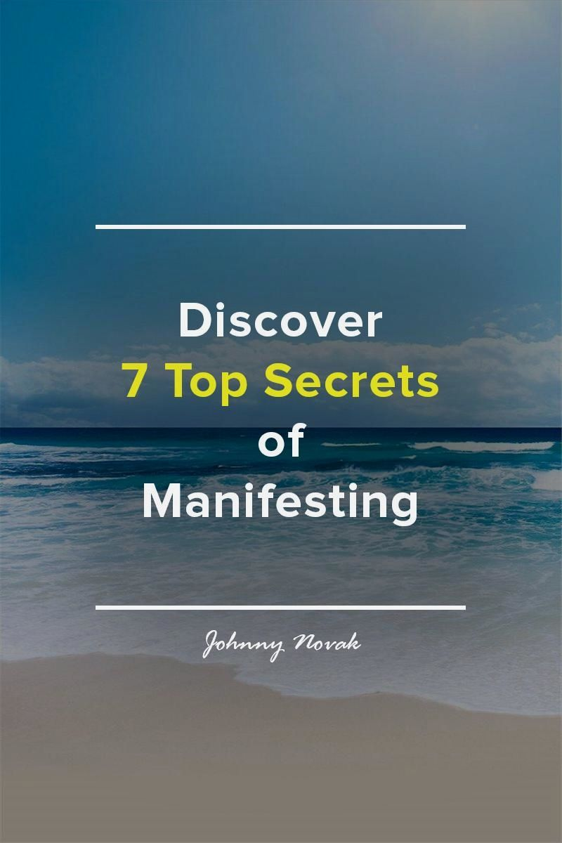 How to manifest what you want cheatsheet included