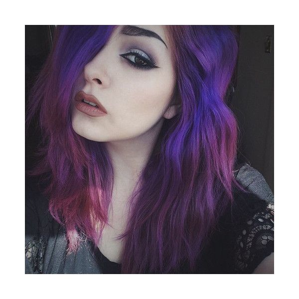 Emo Girls ❤ liked on Polyvore featuring hair and girls
