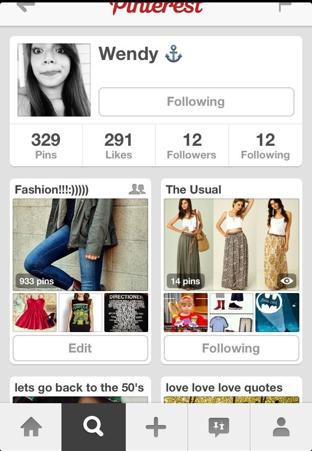 Can everyone please stop and follow my Bestfriend please!!!!!!! She pins awesome stuff❤❤