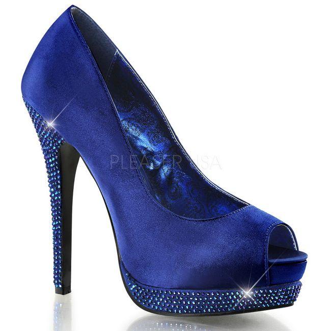 c4f70ba99ec36 Satinado Azul Piedras Strass 13