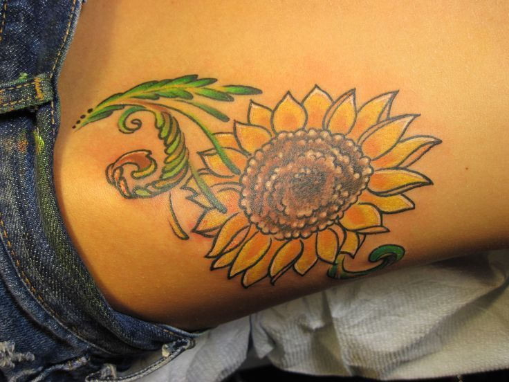 Photo of Pictures of sunflower tattoos – Tattoo Welt – #pictures #Sunflower #Tattoo #Tatt…