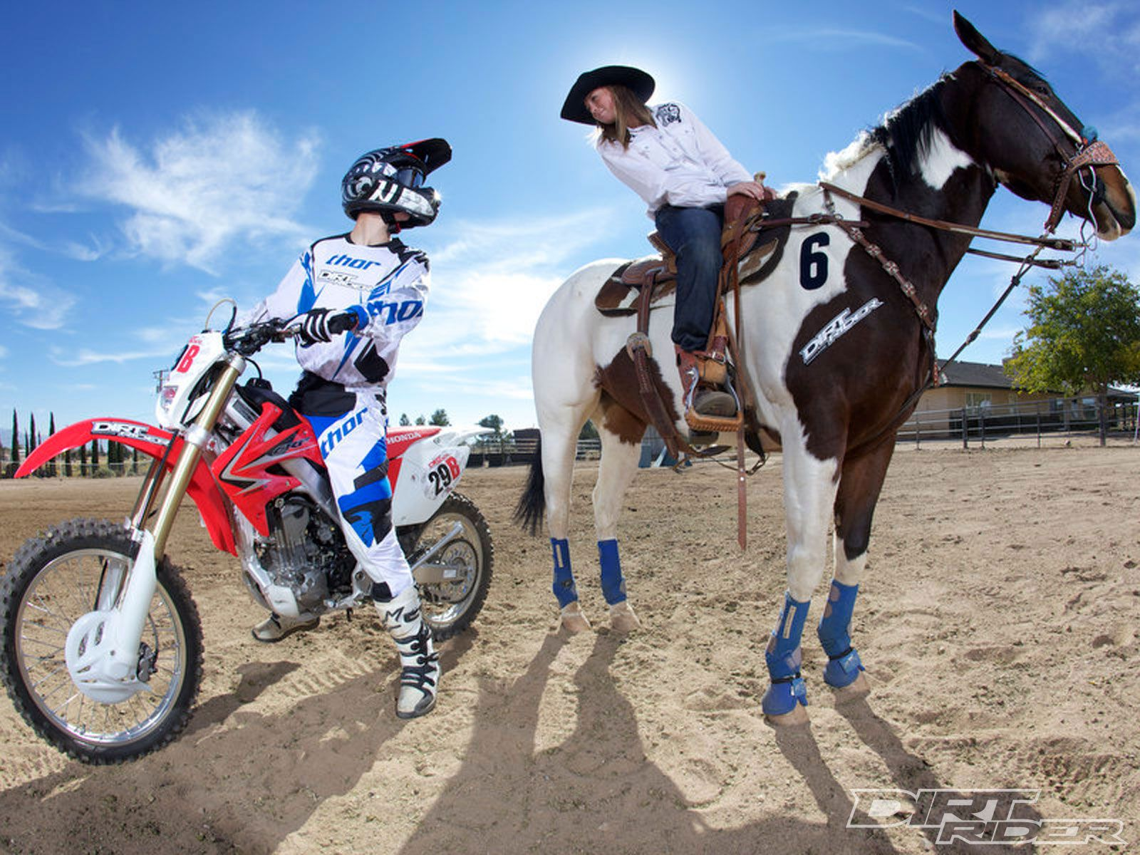 Bike Vs Horse Bike Wins Again Dirt Rider Magazine With