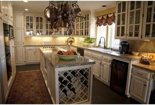 Need Idea For Distressed Kitchen Cabinets From Cream Distressed Kitchen  Cabinets