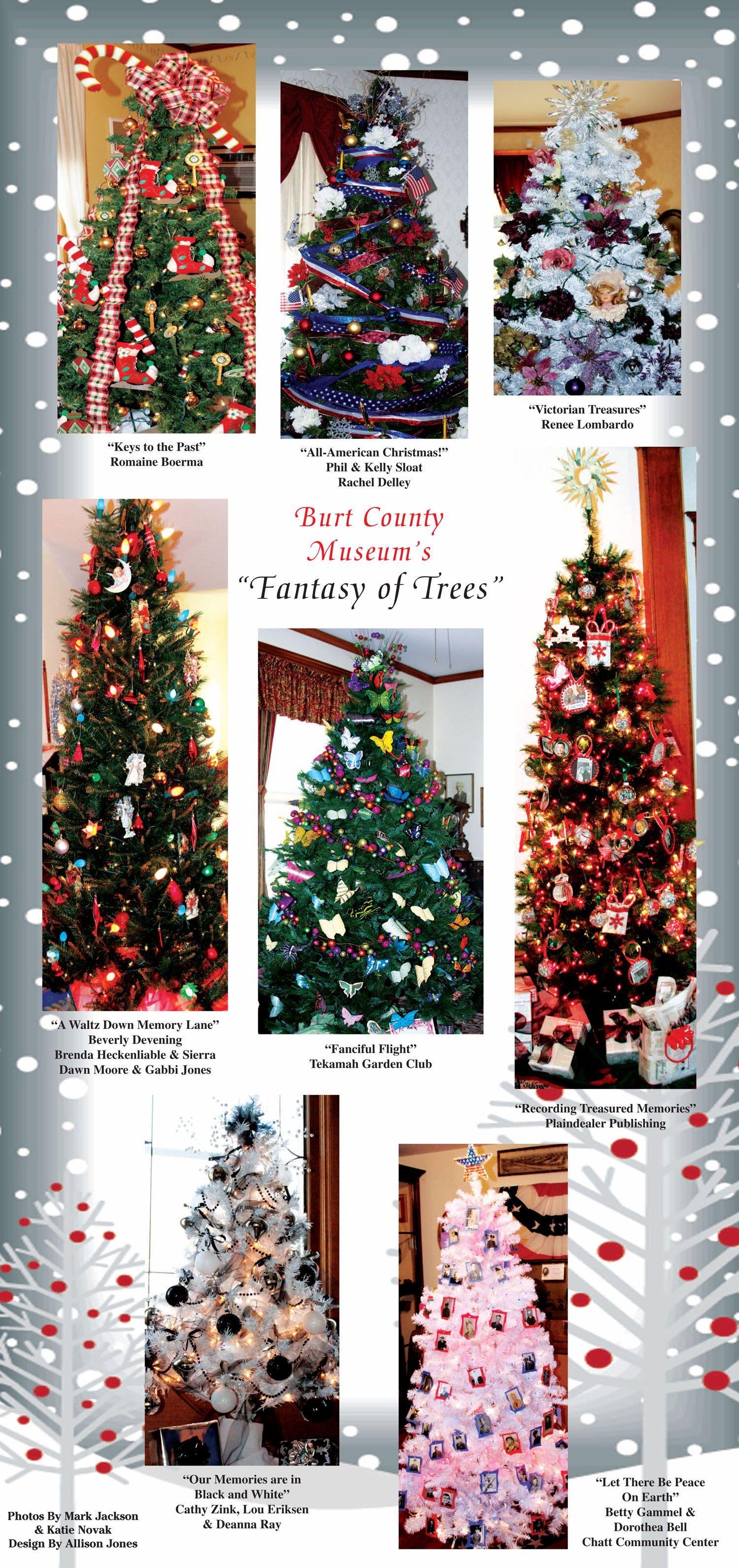 Burt County Plaindealer Outdoor Holiday Decor Holiday Decor Christmas Tree