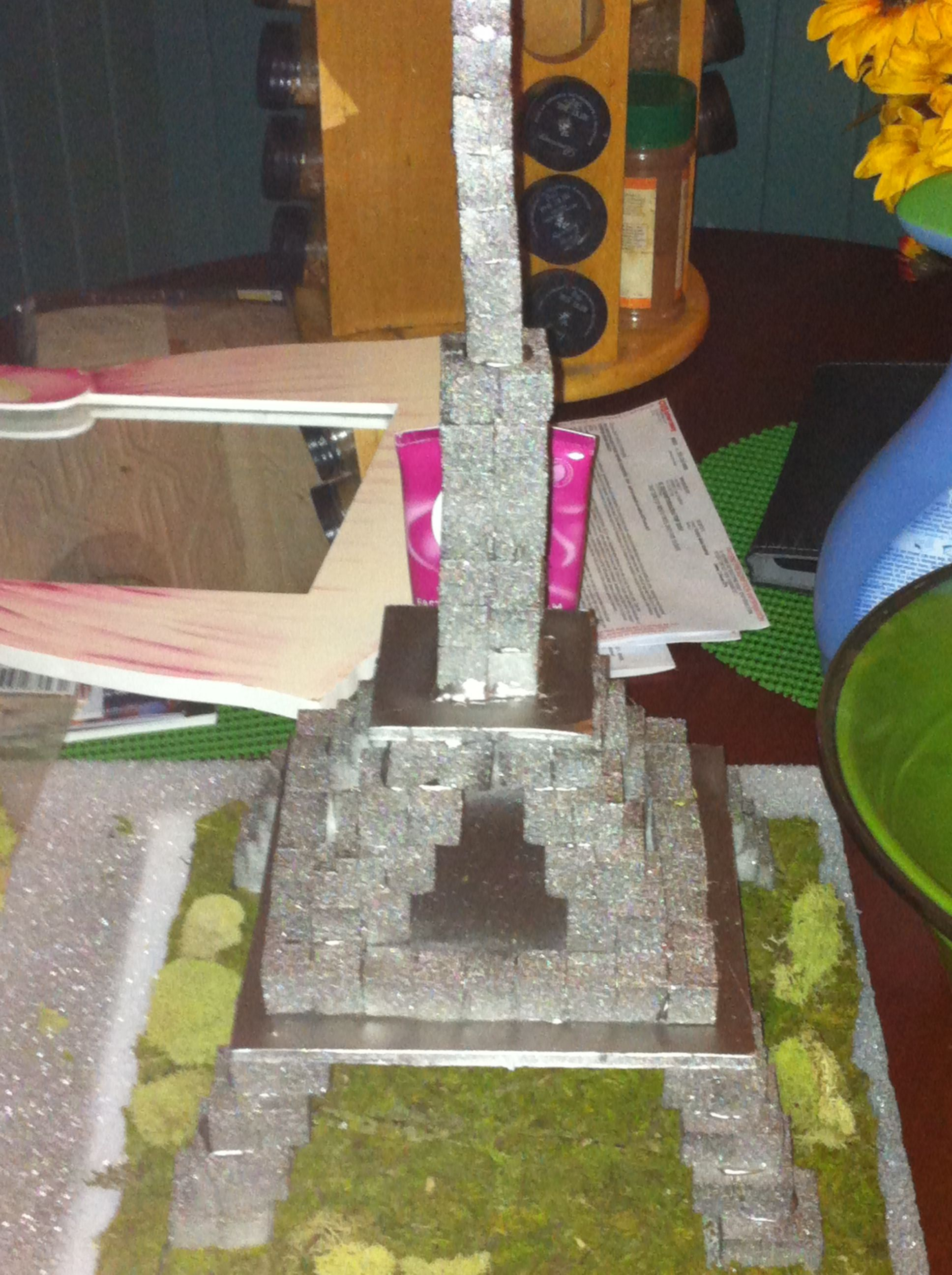 Diy Eiffel Tower Made Out Of Sugar Cubes