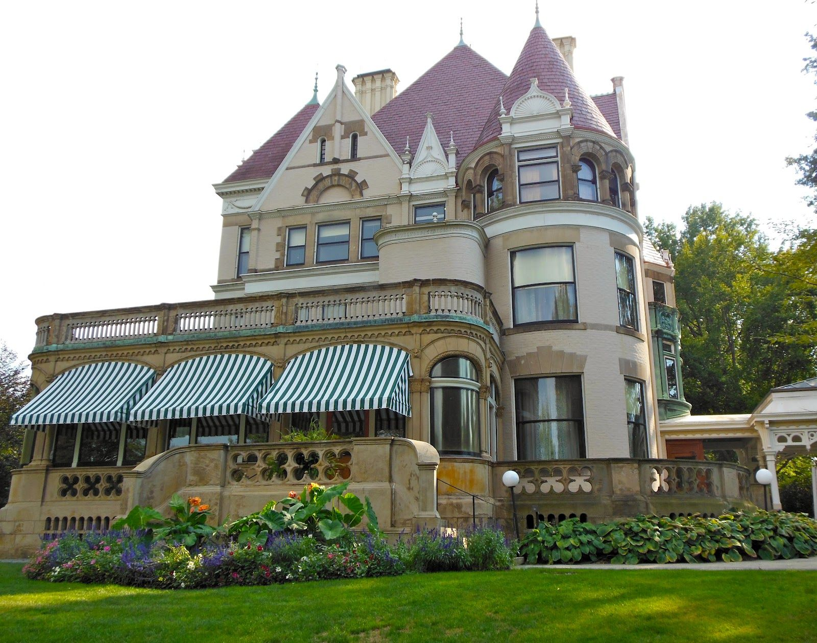 Clayton, the Pittsburgh home of Henry Clay Frick. The ...