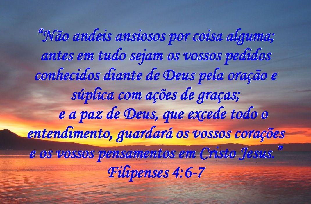 Paz Com Deus Bing Imagens Filipenses Filipenses 4 6 7