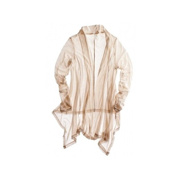 Calypso St. Barth Twen-tee L/S Cardigan, found on polyvore.com