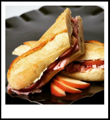 Atlanta Food, Brie sandwich, Poached pears
