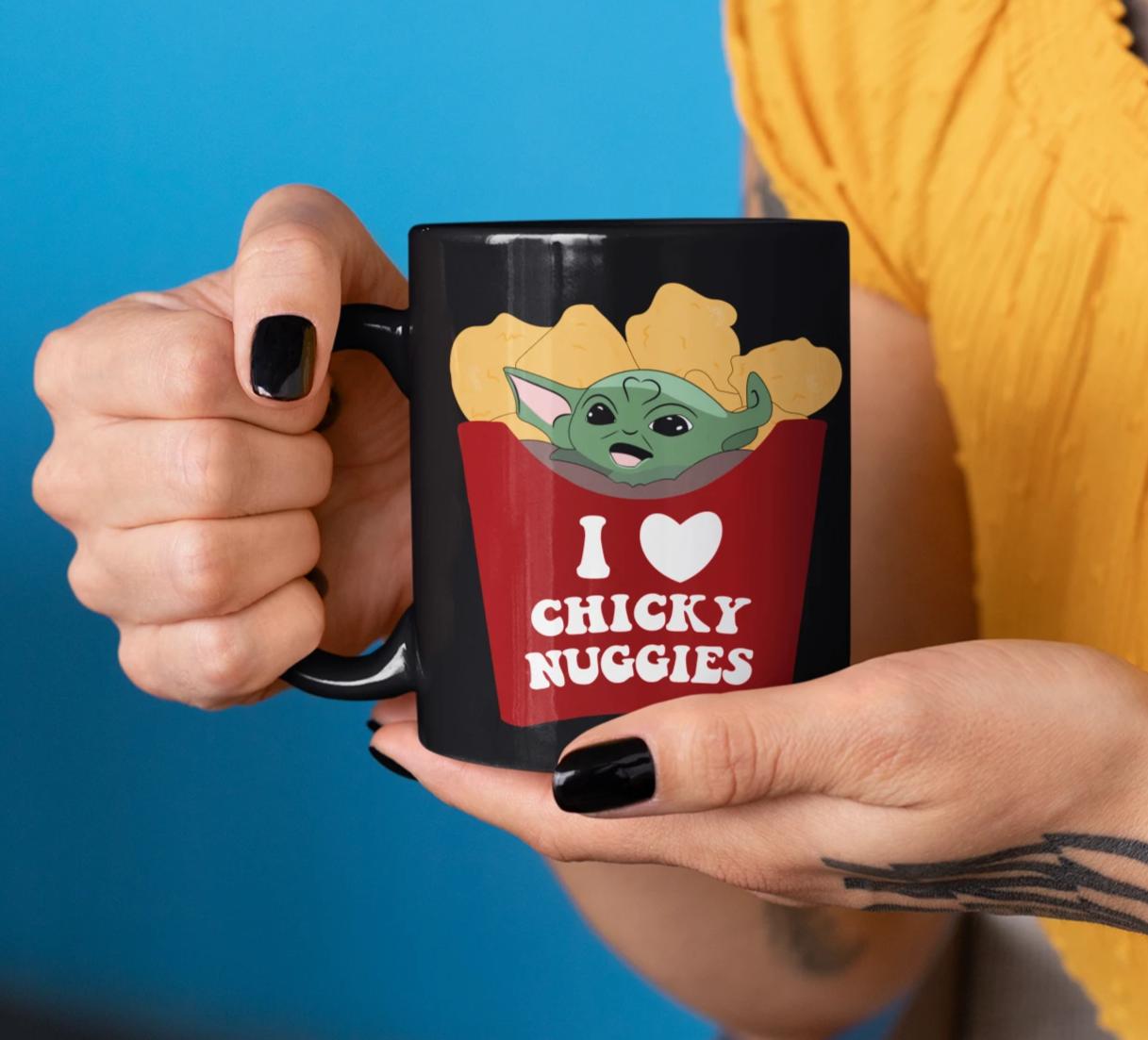 I Love My Chicky Nuggies Mug Mugs Christmas Mugs My Love
