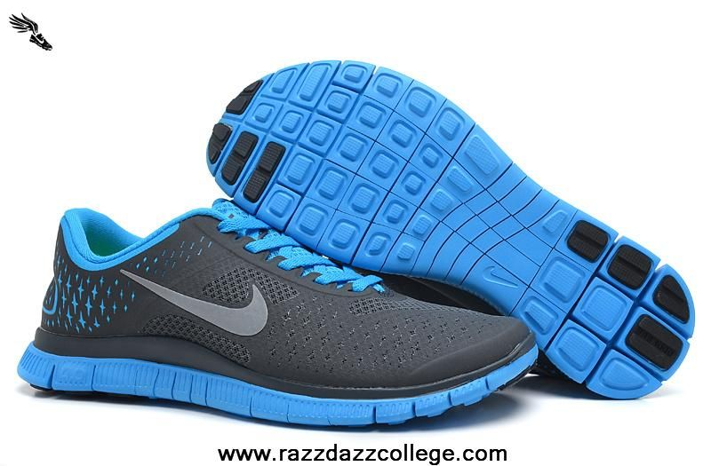 4c91acd1fd13 Discover ideas about Glow. Mens 511472-004 Anthracite Reflect Silver Blue  Glow Nike Free 4.0 V2