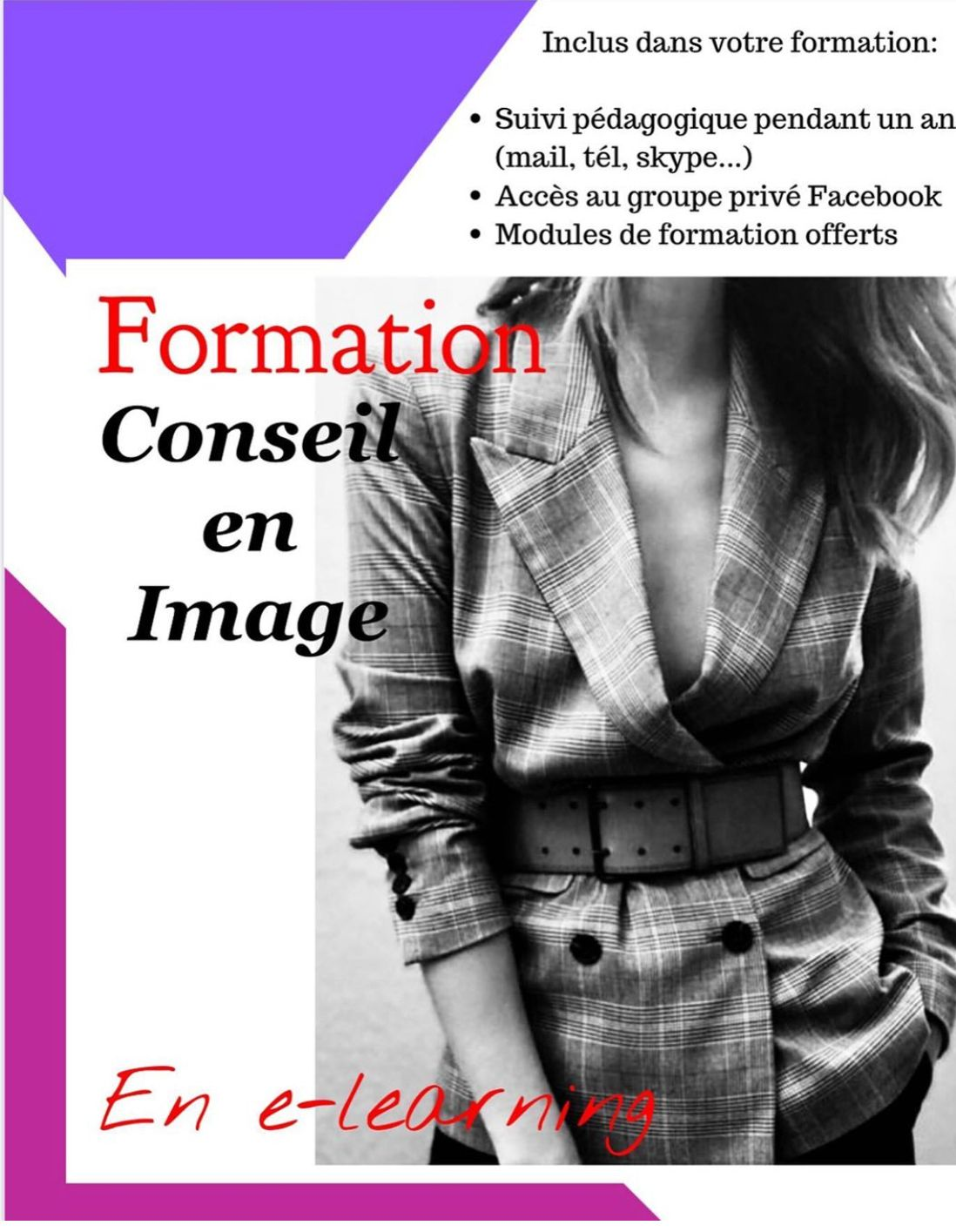 Formation Conseil En Image Relooking A Distance En 2020 Conseil En Image Conseillere En Image Conseil
