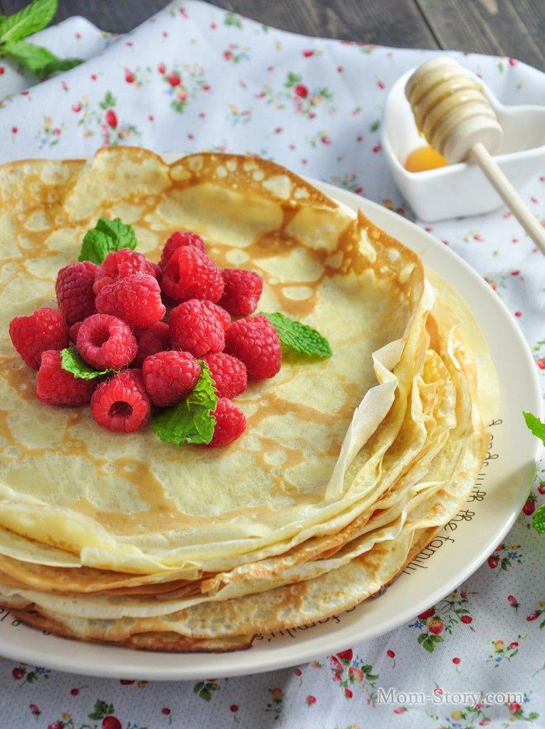 тонкие блинчики на молоке рецепт с фото (mit Bildern ...