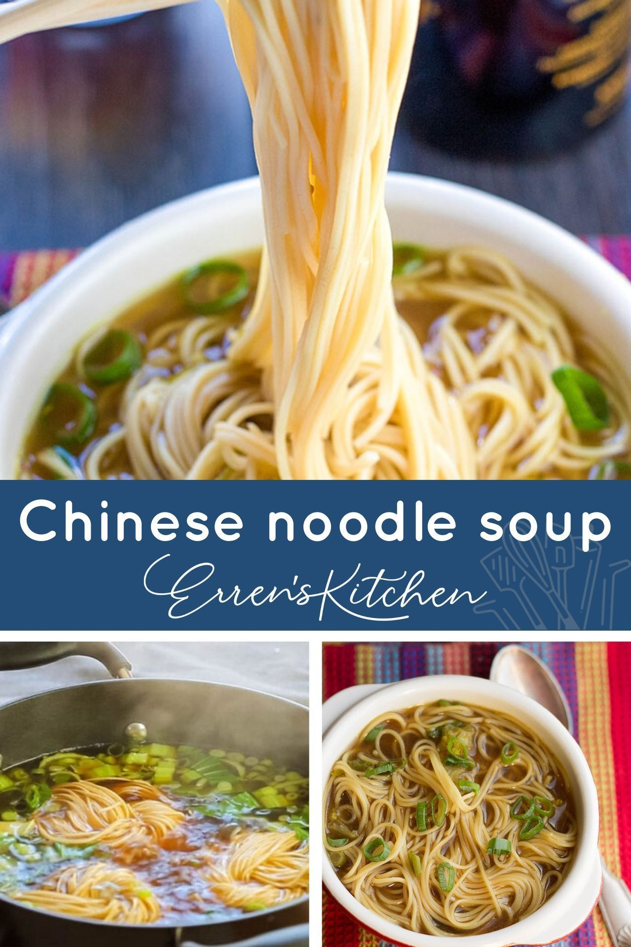 Quick Easy Chinese Noodle Soup Recipe Asian Soup Recipes Easy Soup Recipes Chinese Soup Recipes
