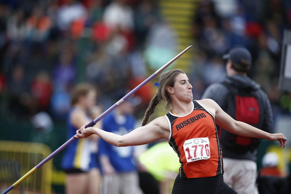 2015 6A, 5A, 4A Oregon high school state track and field