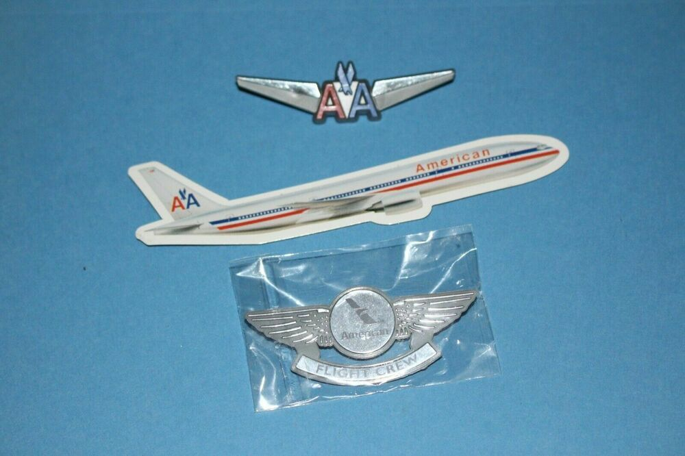Stick On Pin Junior Pilot Badge *NEW* US Airways Replica Pilot Wings