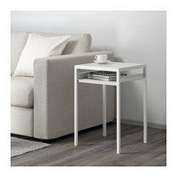 Nyboda Beistelltisch Wendbare Platte Weiss Grau Beistelltische Beistelltisch Grau Und Beistelltische Wohnzimmer