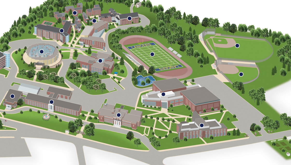 university of worcester campus map Can T Make It To Campus Try Our Interactive Map University university of worcester campus map