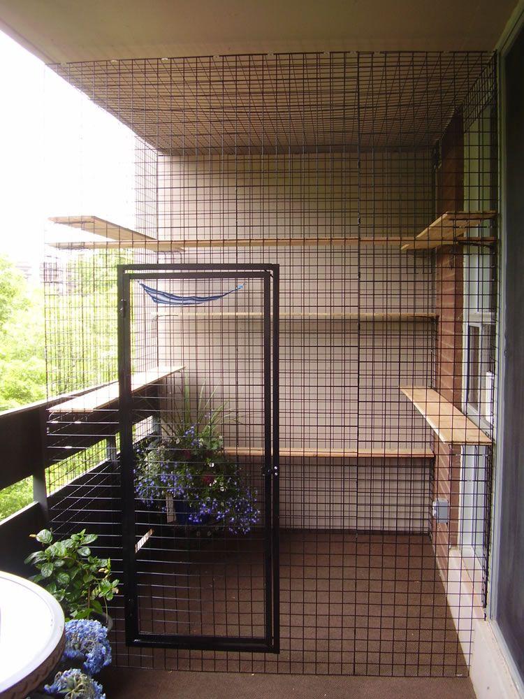 Photo Gallery Cat Patio Outdoor Cat Enclosure Cat Proof Balcony