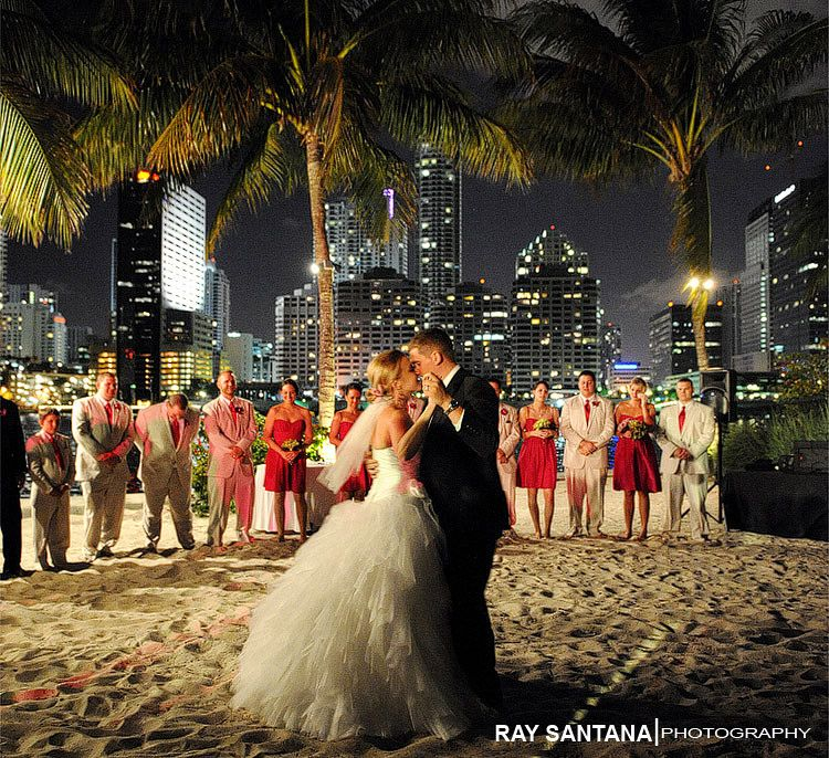 Miami Wedding Leaning Towards This