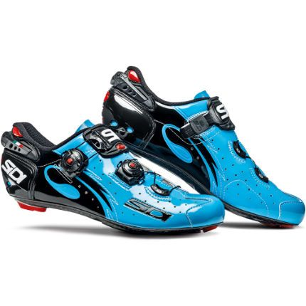 Buy Sidi Wire Carbon Vernice Chris Froome Limited Edition Cycling Shoes -  Blue here at ProBikeKit UK - with great prices on bikes, components and  clothing, ...