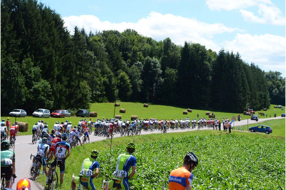 Pis en bici. Tour de Francia 2012