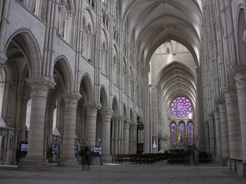 Chartres Cathedral Paris France One Of The Only Medieval