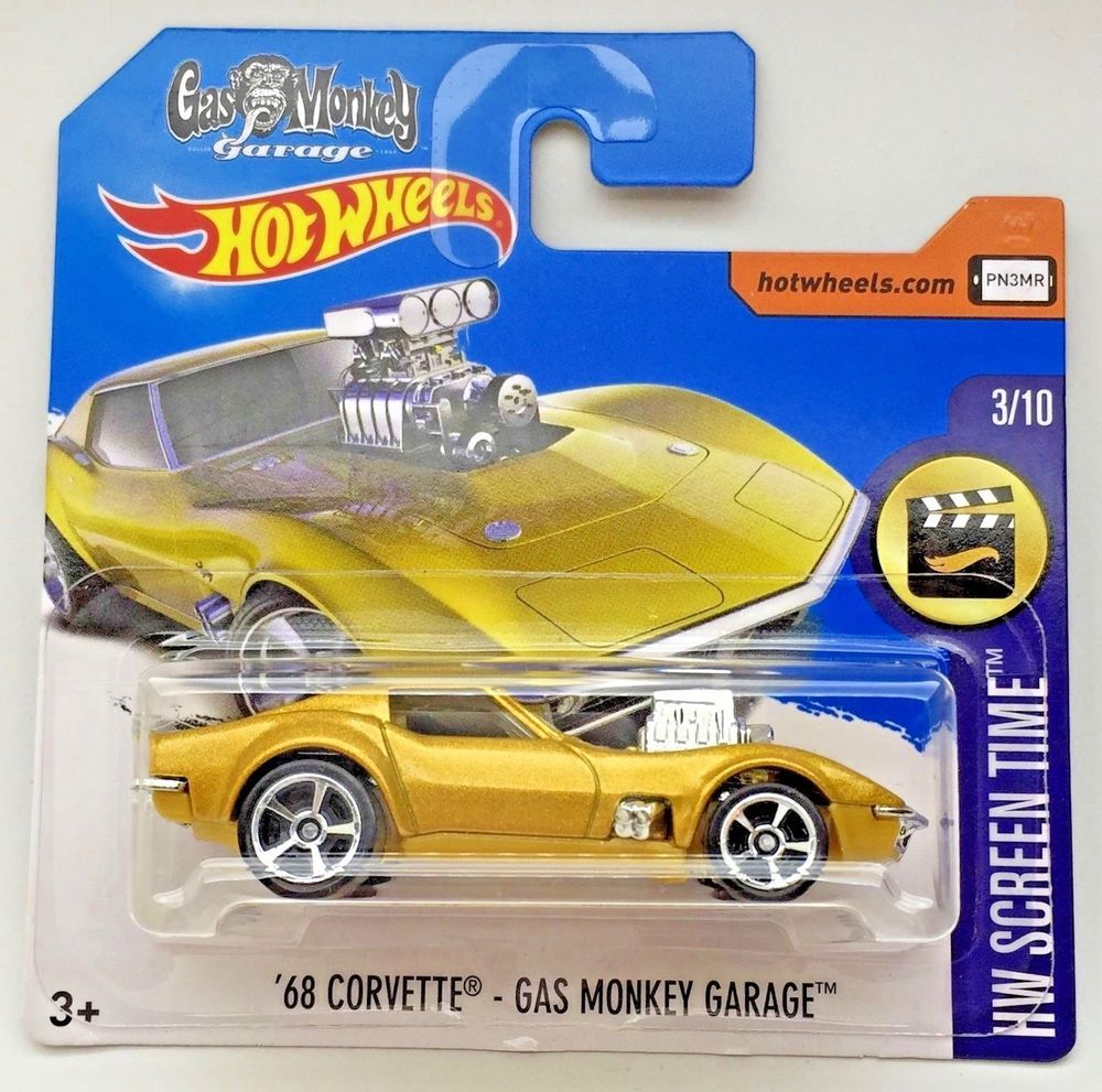 2017 Hot Wheels 68 Corvette Gas Monkey Garage Hw Screen Time Short Card Rare Hot Wheels Gas Monkey Garage Gas Monkey [ 991 x 1000 Pixel ]