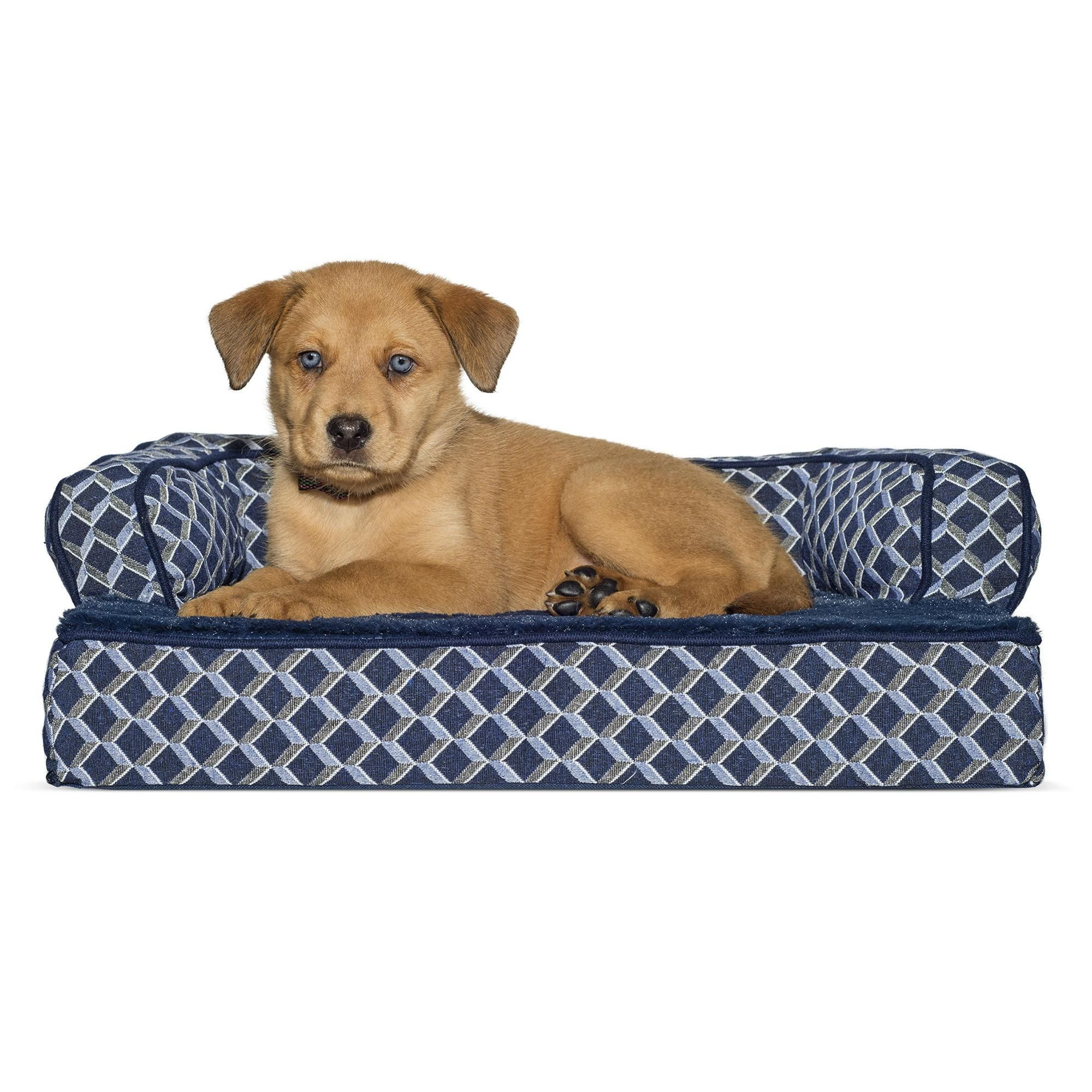 FurHaven Plush & Decor Orthopedic SofaStyle Pet Bed