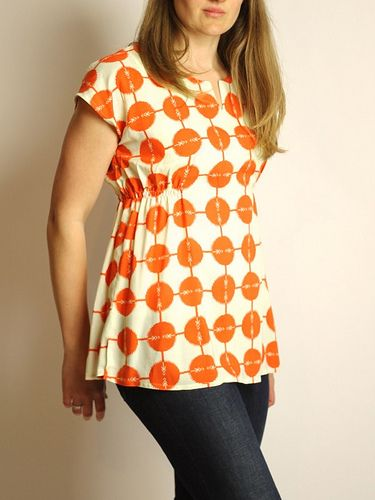 tomato top by madebyrae, via Flickr