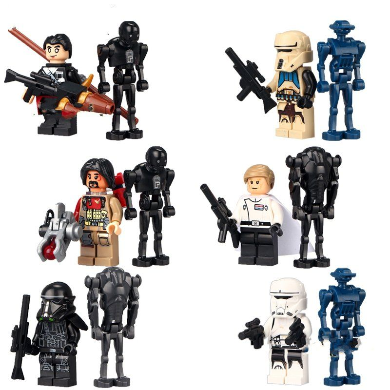 Custom Star Wars Rogue One Weapons /& Accessories for Lego Minifigures!