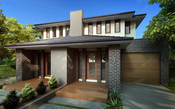 duplex designs dual occupancy home designs metricon planos e
