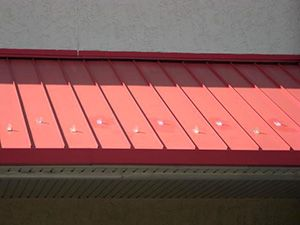 How To Install Adhesive Snow Guards On A Metal Roof System