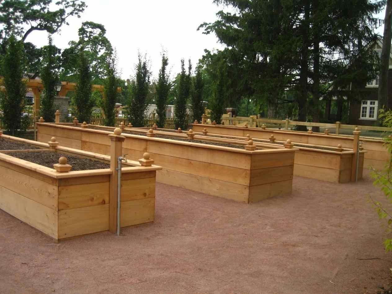 raised design in groovy Waist High Raised Garden Bed Plans tall ...