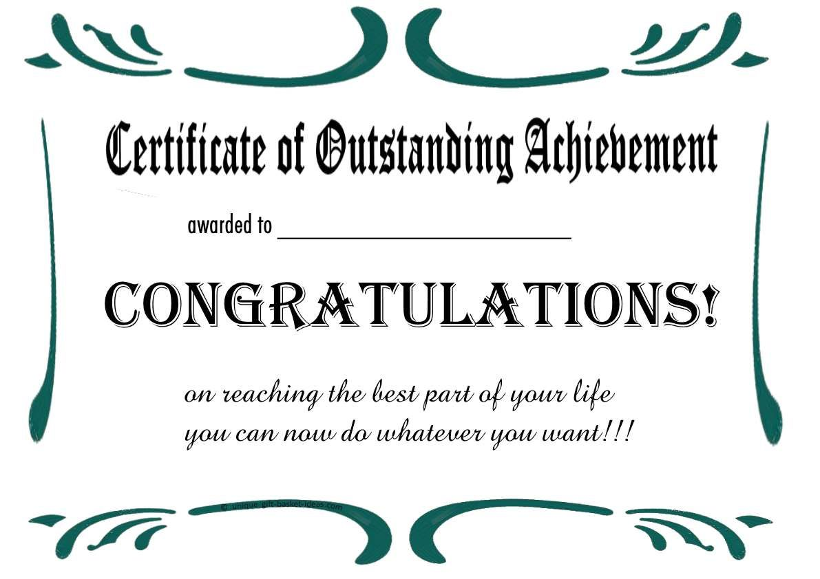 free printable certificates templates