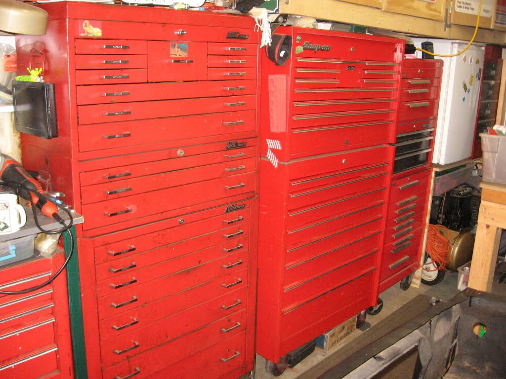 Vintage Mac And Snap On Toolboxes From Late 70 S To Early