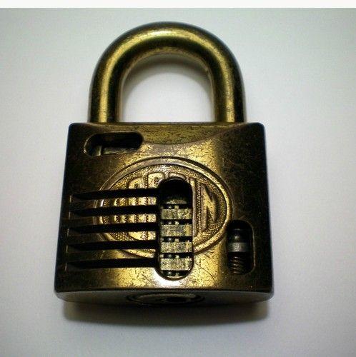 Vintage Corbin Cutaway Padlock Plus A Key To Open It And 3 Blank Corbin Keys Ebay Skeleton Key Lock Padlock Under Lock And Key