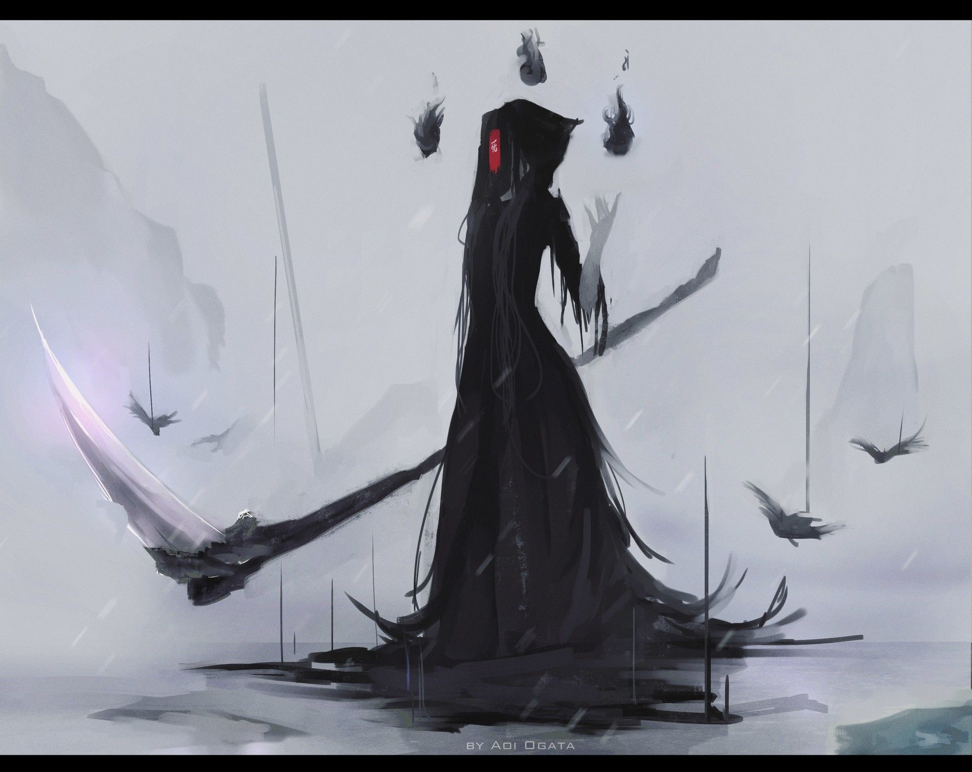 Death art, Character