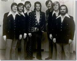 The Stamps Quartet L/R    Bill Baize,  Richard Sterban,  Donnie Sumner,  Elvis Presley,  J.D. Sumner,  Ed Enoch,   Nick Bruno