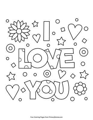680 I Love You Coloring Pages Pdf For Free Valentine Coloring Pages Valentines Day Coloring Page Valentines Day Coloring