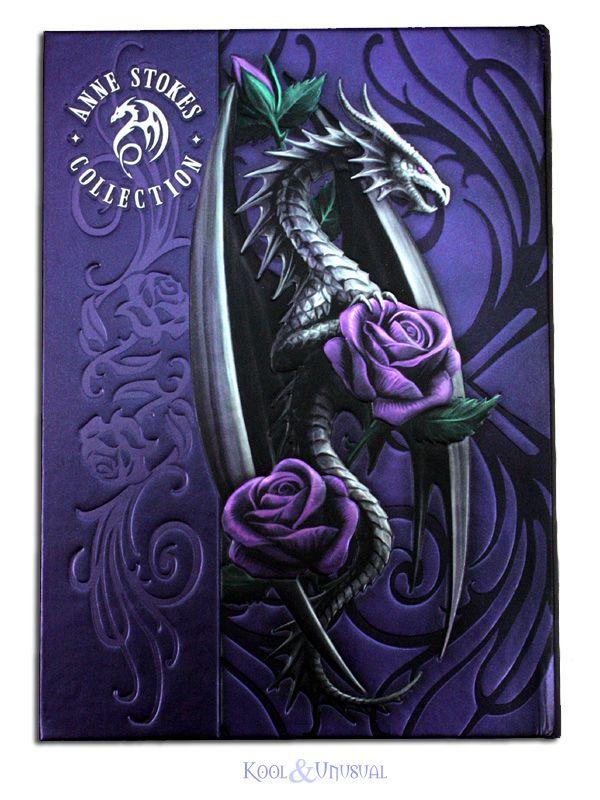 Anne Stokes Dragon | Anne Stokes Embossed Journal: Dragon Beauty [GF-AMJNFDB] - $14.95 ...
