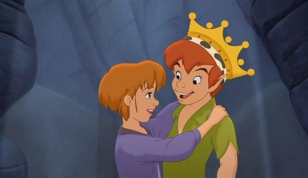 Dibujos Animados De Disney Para Colorear Peter Pan Peter: Peter Pan And Jane - Peter-pan-and-jane Photo