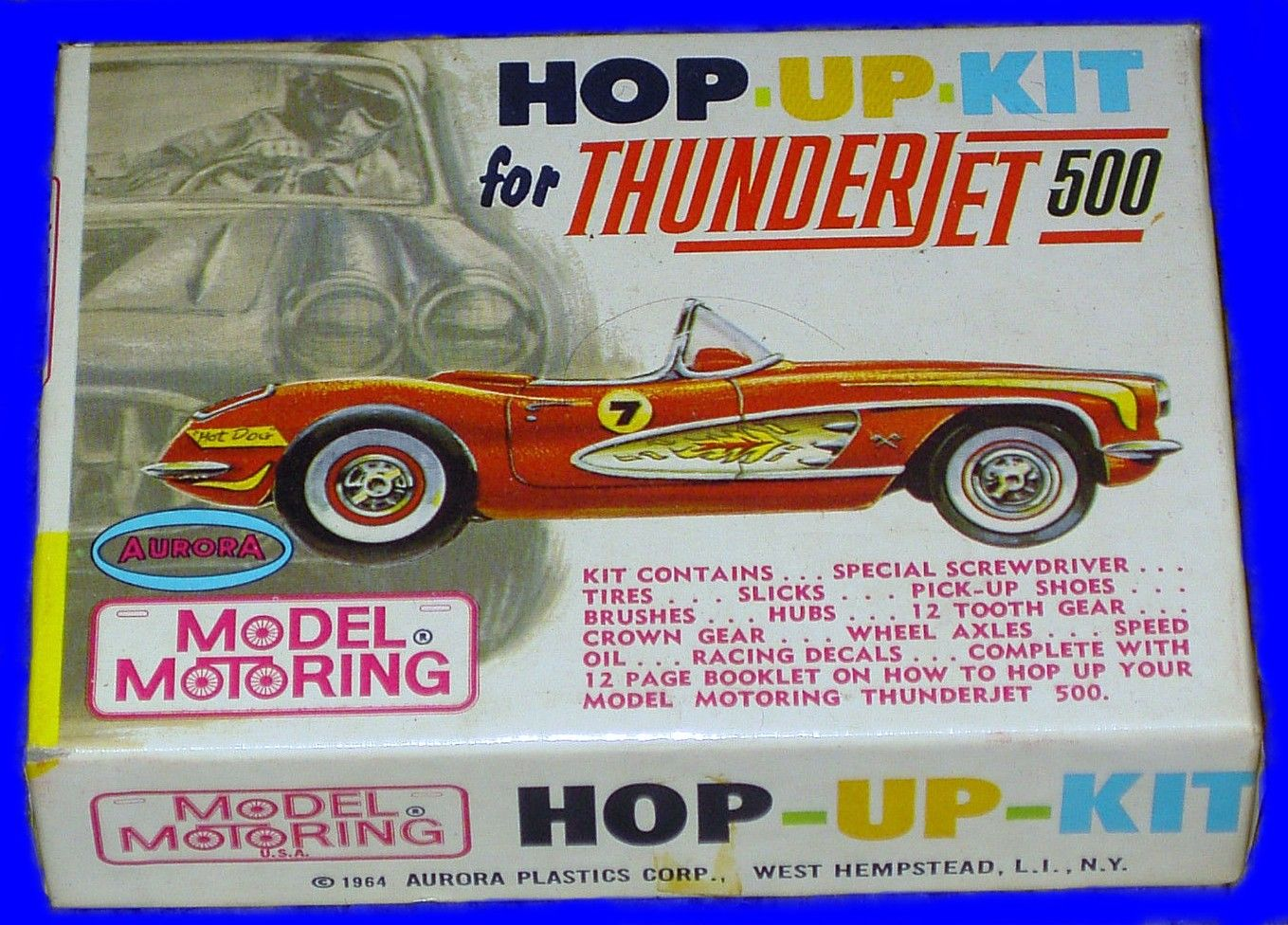 small resolution of aurora thunderjet ho scale slot car hop up kit